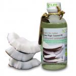 Кокосовое нерафинированное масло холодного отжима agrilife (120 мл)