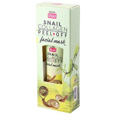 Маска-пленка Snail Collagen Peel off mask