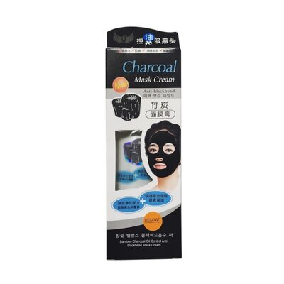 Угольная маска для лица Bamboo Charcoal Mask 130 грамм