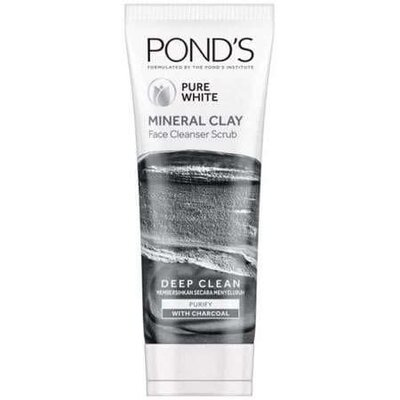 Угольная пенка для умывания Pond's Mineral Clay