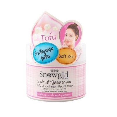 Ночная маска для лица Snowgirl Tofu &Collagen