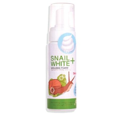 Улиточная пенка-мусс Snail White+ Mousse Foam Daiso
