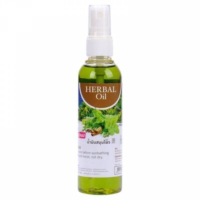 Травяное масло Herbal Oil Banna 120 мл