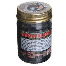 Черный бальзам на основе яда кобры 100 гр.